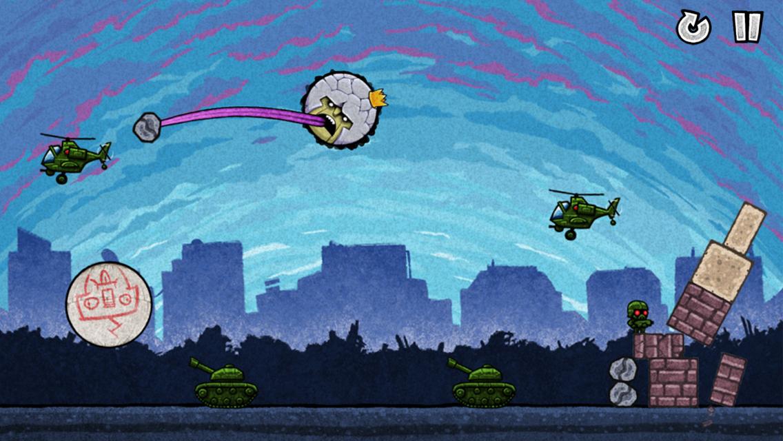 Hubschrauber und Panzer sind keine Gefahr für King Oddball
