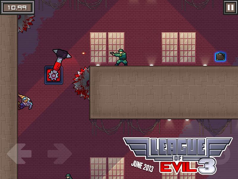 League Of Evil 3 - Der Plattformer geht diesen Spieledonnerstag in die dritte Runde - zweiter Teil gratis zu haben