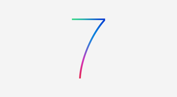 iOS 7 Logo - Apple gibt sich minimalistisch